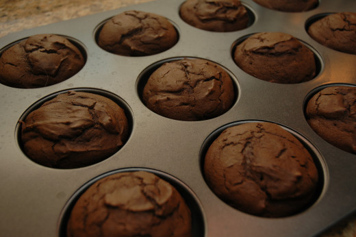 My whoopie pies...fresh out of the oven!