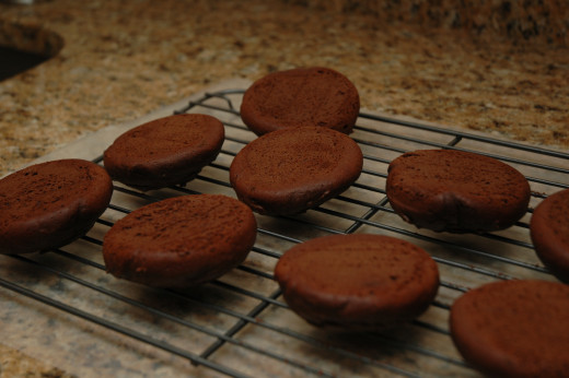 Cooling before icing!