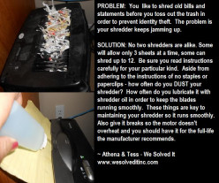 SHREDDER SOLUTION