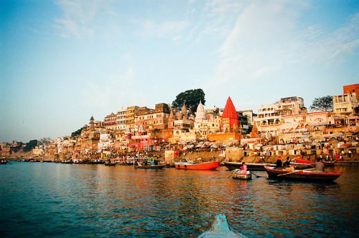 El río Santo Ganga