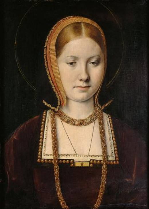 Portrait of a young Catherine of Aragon
