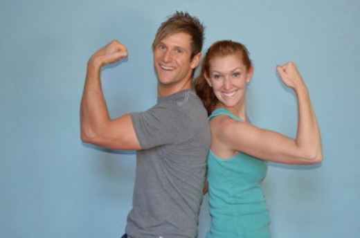 Trainer Davey and Jess from TwoTri.com