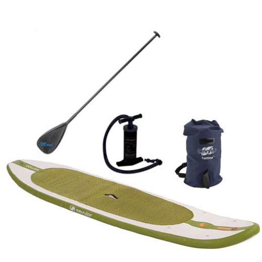 "Sevylor Samoa Standup Paddleboard Set with 80"" Paddle"