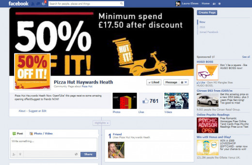 Finding discounts on Facebook can be easy