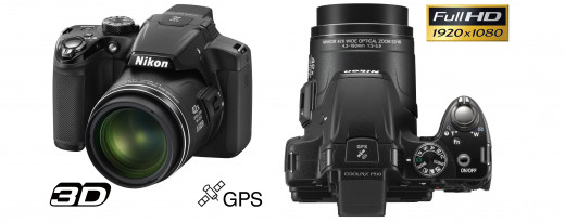 The Nikon Coolpix P510: With full HD, GPS, 3-D - oh, and a 42x optical zoom lens.