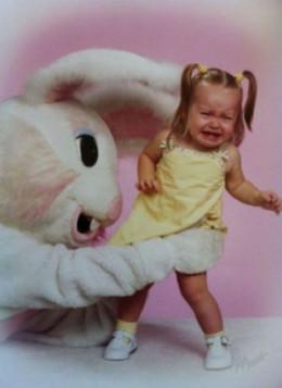 Easter Bunny gonna getchya!