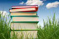 Sell your textbooks.        photo credit, Dreamstime