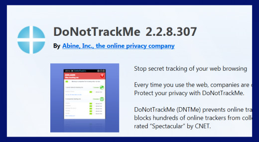 Screenshot 4. Block tracking online. Source: Mozilla Firefox