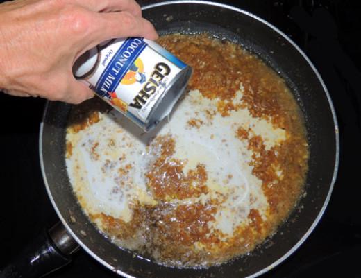add coconut milk
