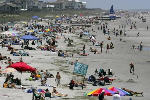 Folly Beach South Carolina, Just A Few Miles From Charleston SC