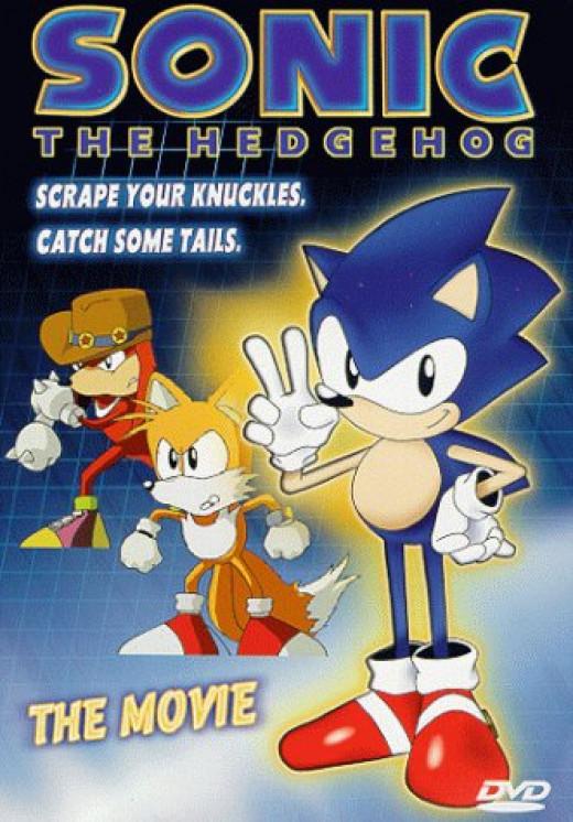 """Sonic the Hedgehog OVA"" cover art"