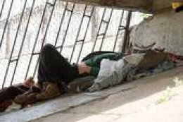 Governments and religions making outrageous profits while homeless families sleeping on the streets