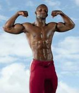 proud body builder