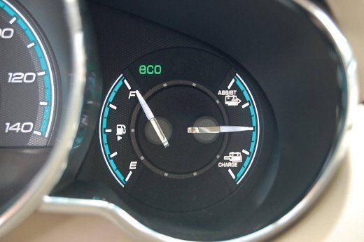 2009 Chevrolet Malibu Hybrid Gauges