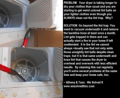 CLOTHES DRYER SOLUTION