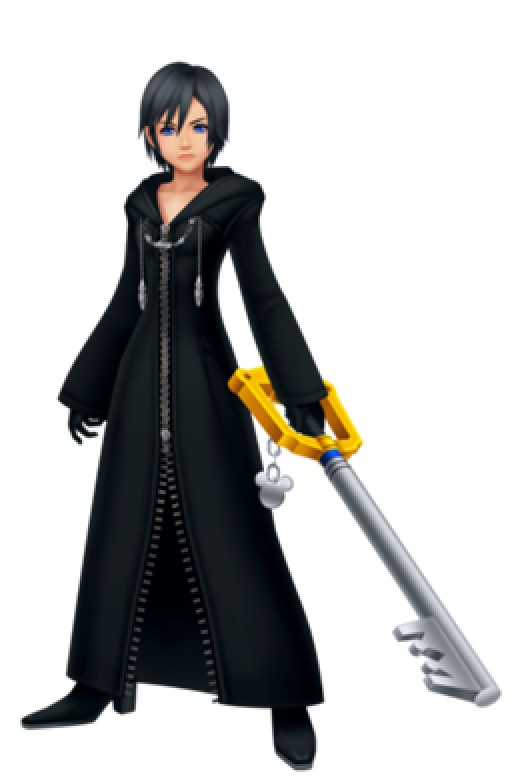 Xion is the only other user of the Keyblade besides Roxas in the Organization.