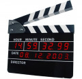 Using clapperboards in the film industry