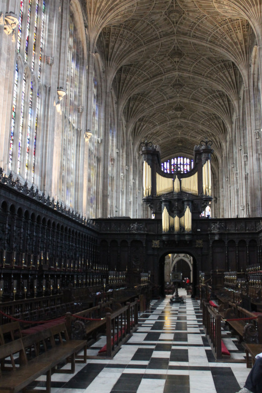 The nave, King's College Chapel