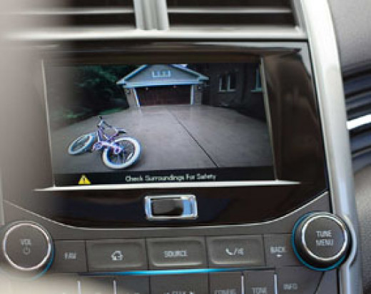 2013 Chevrolet Malibu Eco Rear Back Up Camera
