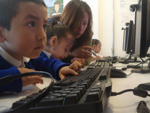English Language Learners actively engaged