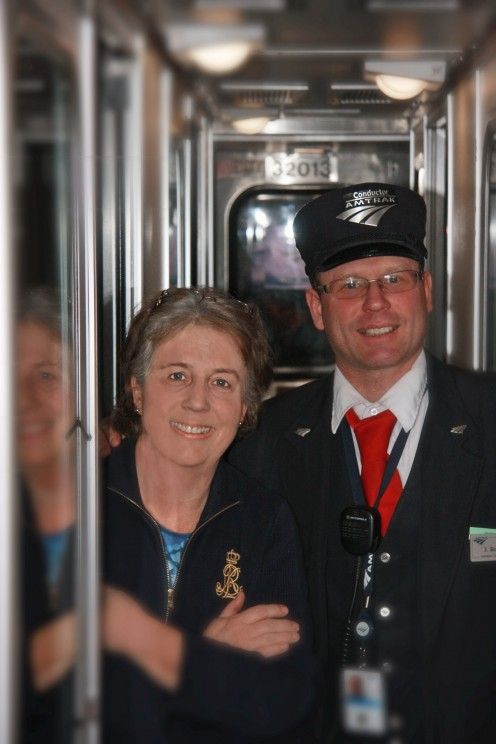 This is Jason Berg, one of the conductors on the Empire Builder.  Jason is a photographer when he's not on the rails, and he contributes to Amtrak articles.