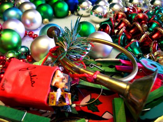 Bye, bye Christmas clutter