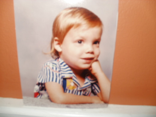 My son Christopher at age 3.