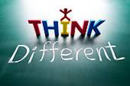 It is OK to think differently than the rest
