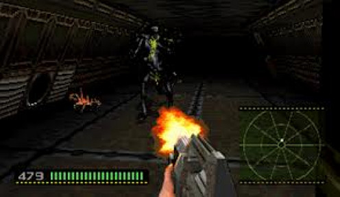 Alien Trilogy is a science fiction video game for the Playstation which bases it's story line off of the film franchise.