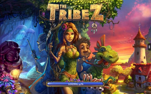 The Tribez Game Review for the Kindle Fire HD