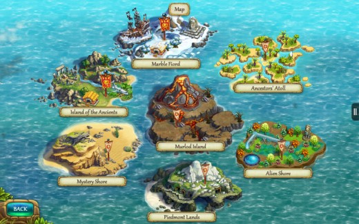 The Tribez now has seven islands you can play.
