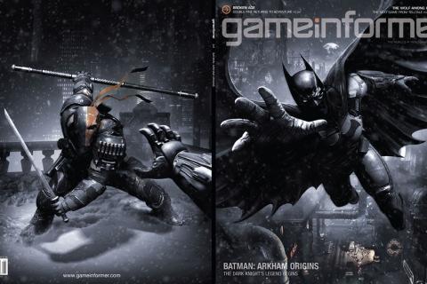 """Game Informer """"Arkham Origins"""" cover"""