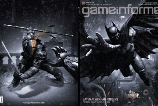 "Game Informer ""Arkham Origins"" cover"