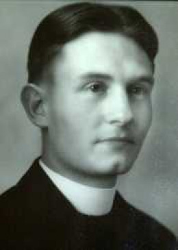 Father Emil Kapaun while a seminary student