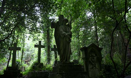 A Paranormal Cemetery
