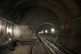 A Haunted Tube Station