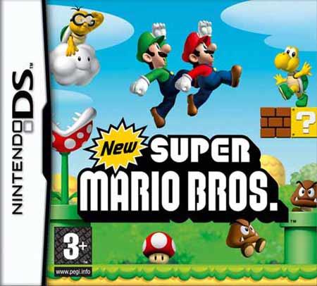 Super Mario Bros. DS cover