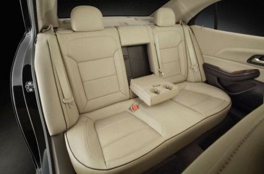 2013 Chevrolet Malibu Eco Rear Seat
