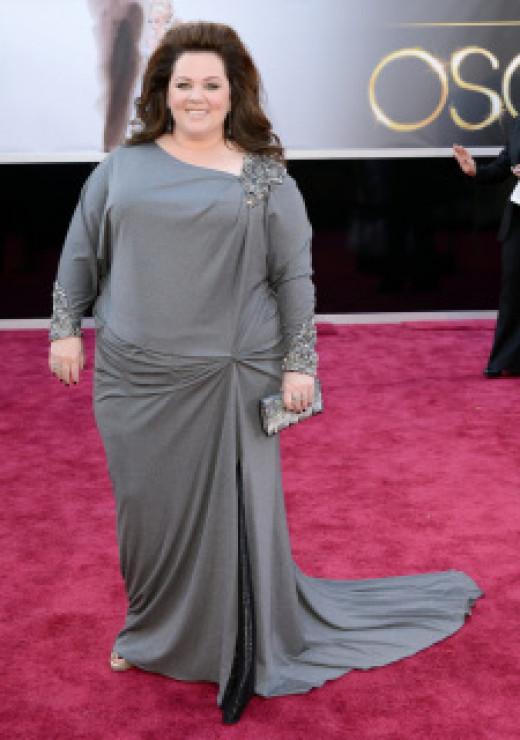 Melissa McCarthy at the Oscars 2013