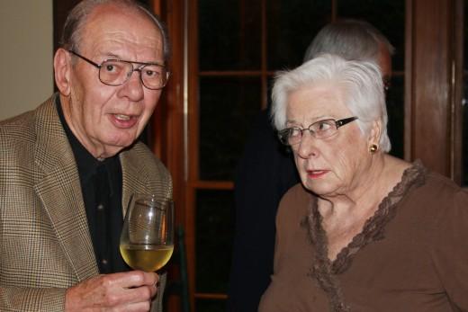 High School Classmates, Jim and Gretchen, at 60th reunion.