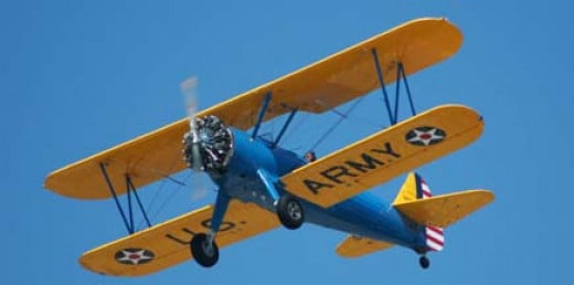 Stearman PT-17, N67823 is registered to First Globe Inc. of Carson City, Nevada. It was built in 1943.