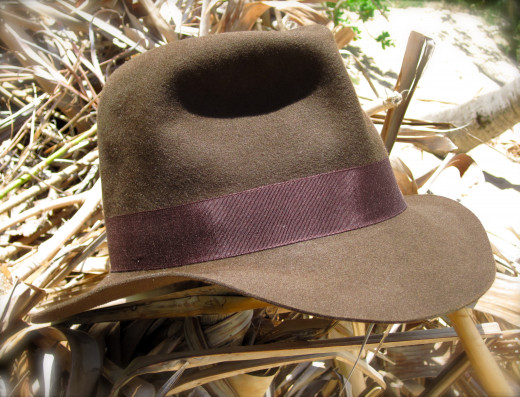This hat will keep the sun off your face and make you look like Indiana Jones.