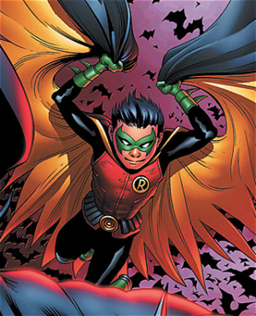 Damien Wayne as Robin