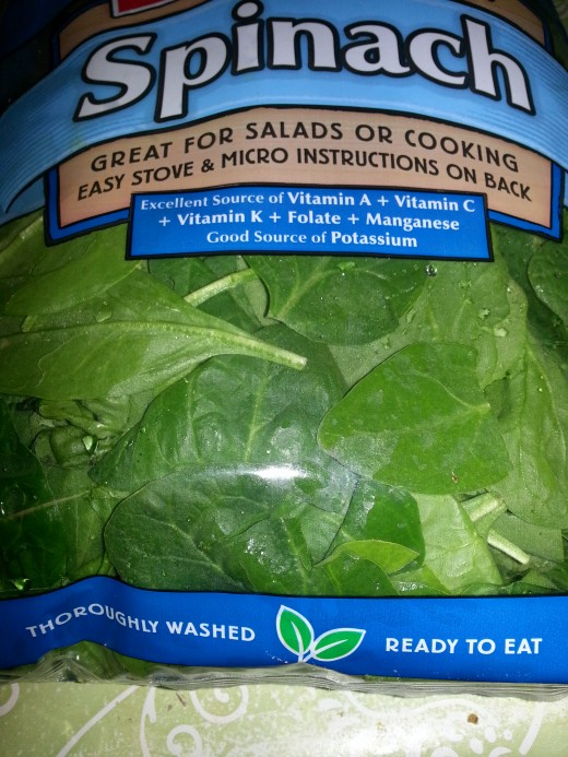 Spinach most nutrient food