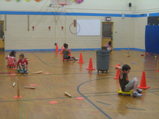 Physical Education Activities And Gym Games For Grade
