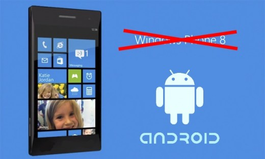 Really, that's Android, not Windows Phone!