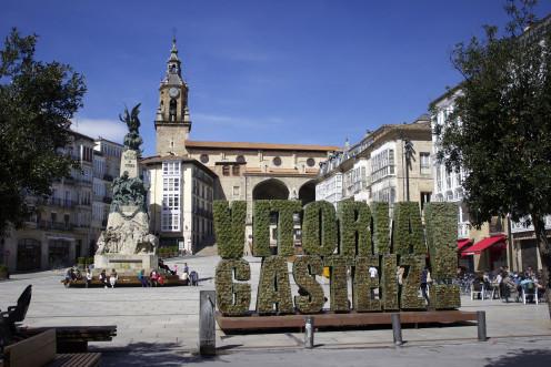 La Virgen Blanca Square, Vitoria-Gasteiz.