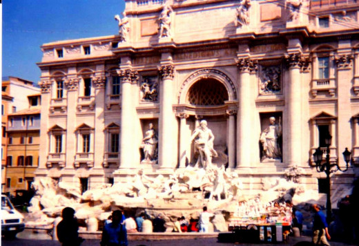 Let's face it -- people are going to keep going to the Fontana de Trevi no matter what.