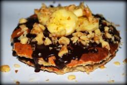 Island Bites: Tropical Banana & Walnuts Pancakes