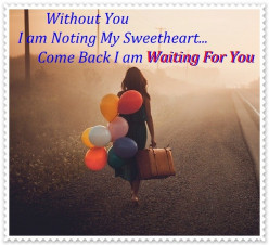 I am still waiting for you